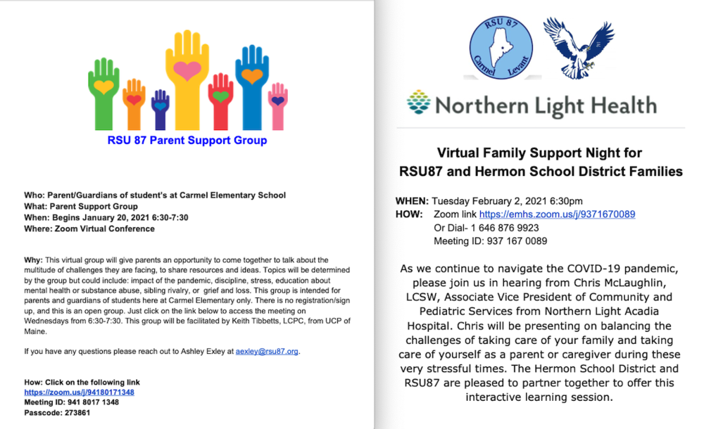 Parent Support Groups