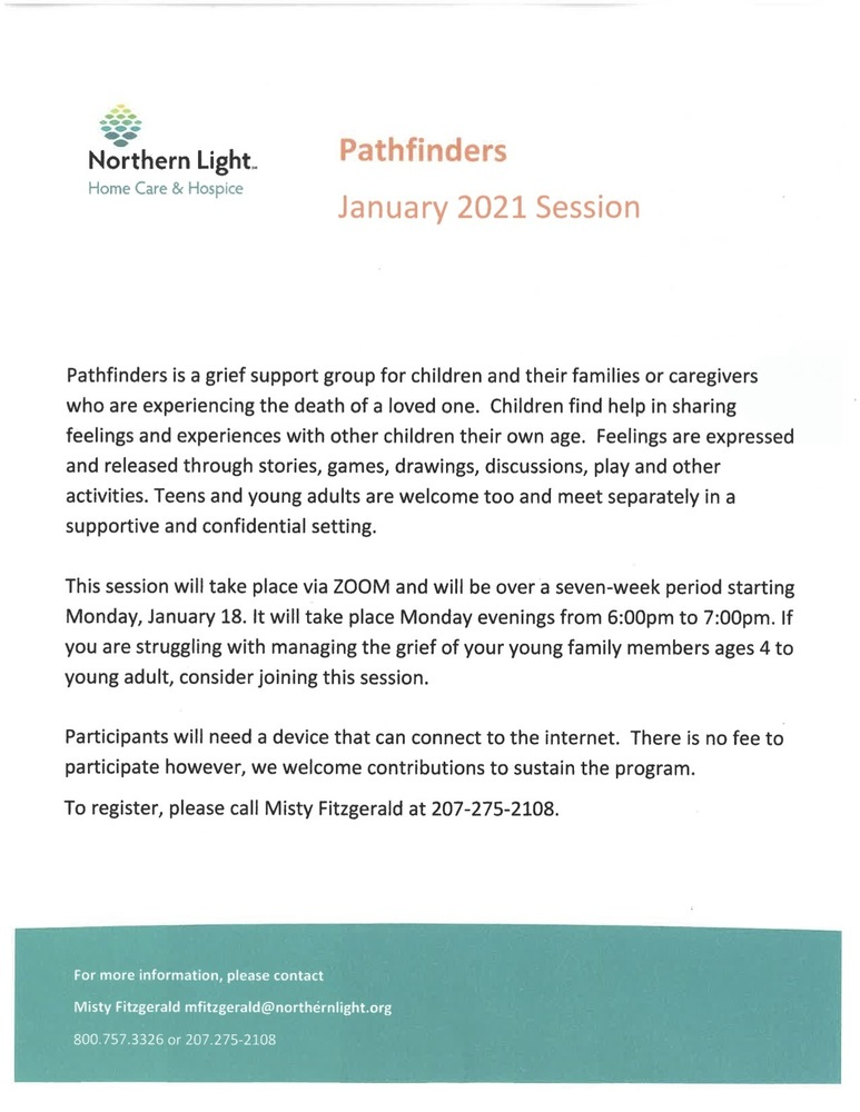 Pathfinders Support Group